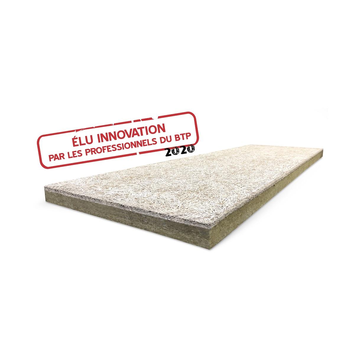 Rockfeu Wood B RsD - Isolant planchers en rapporté sous dalle