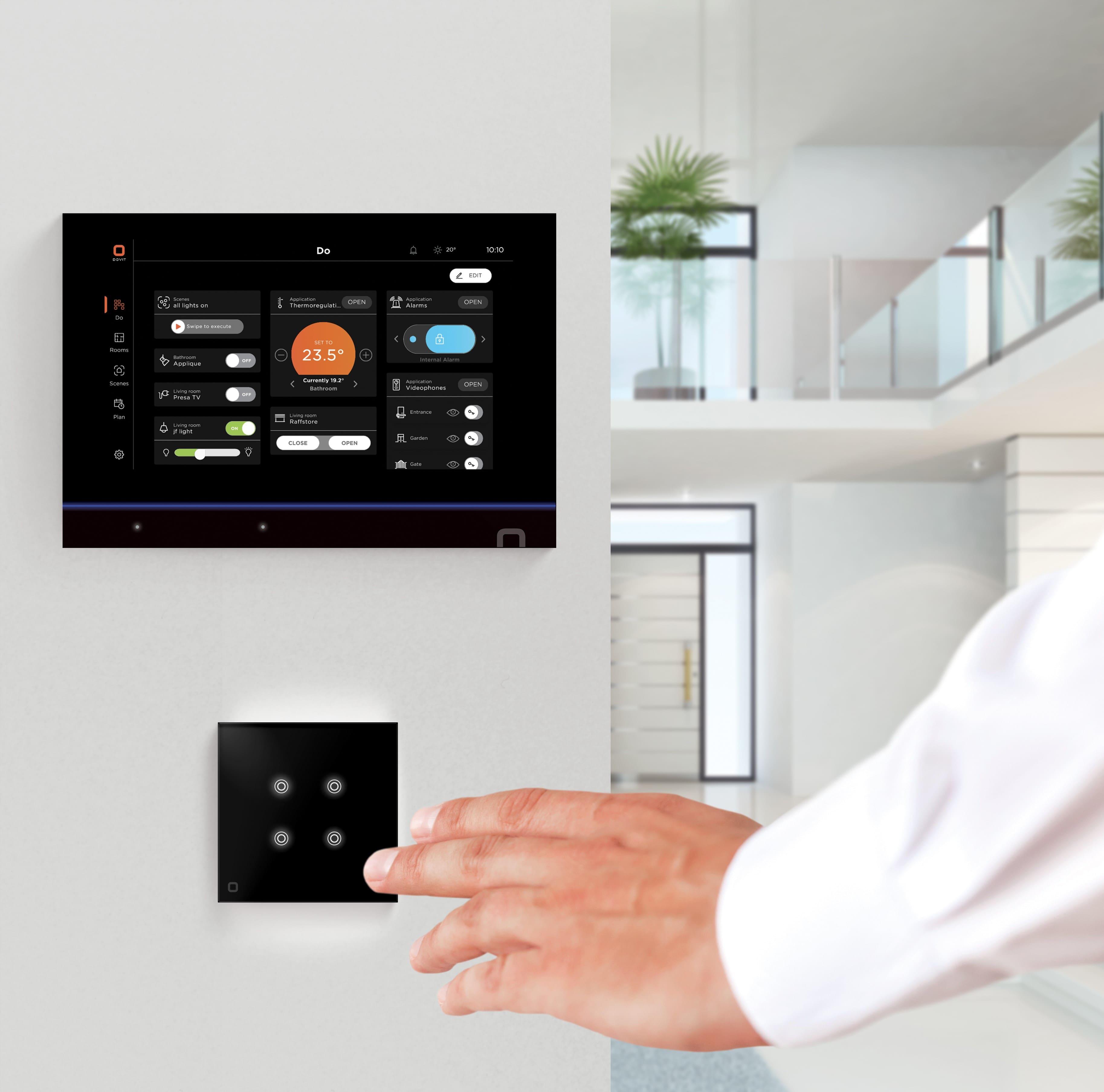 Dovit - Application SmartHome - Système domotique