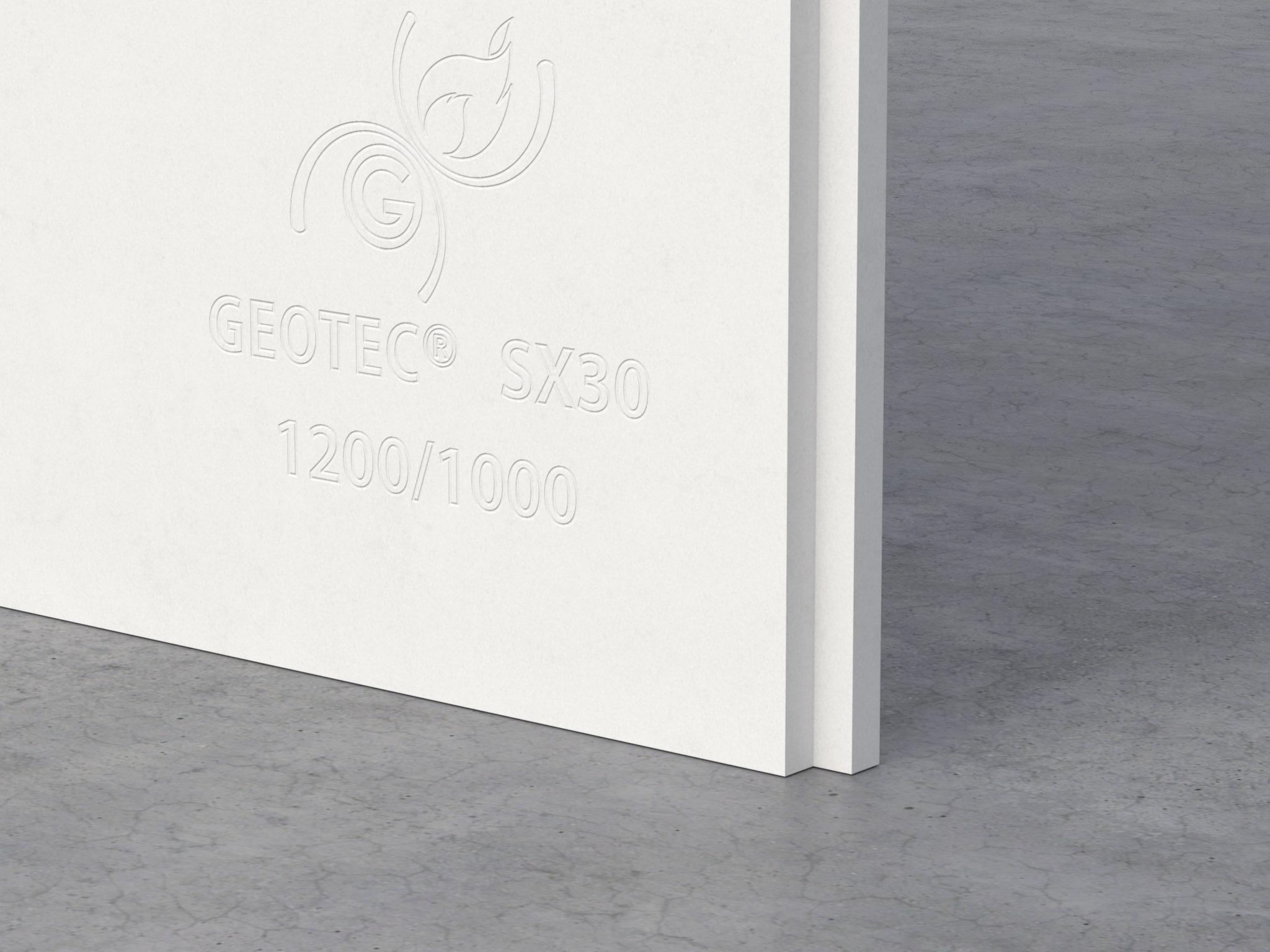 GEOTECSX - Plaque coupe-feu