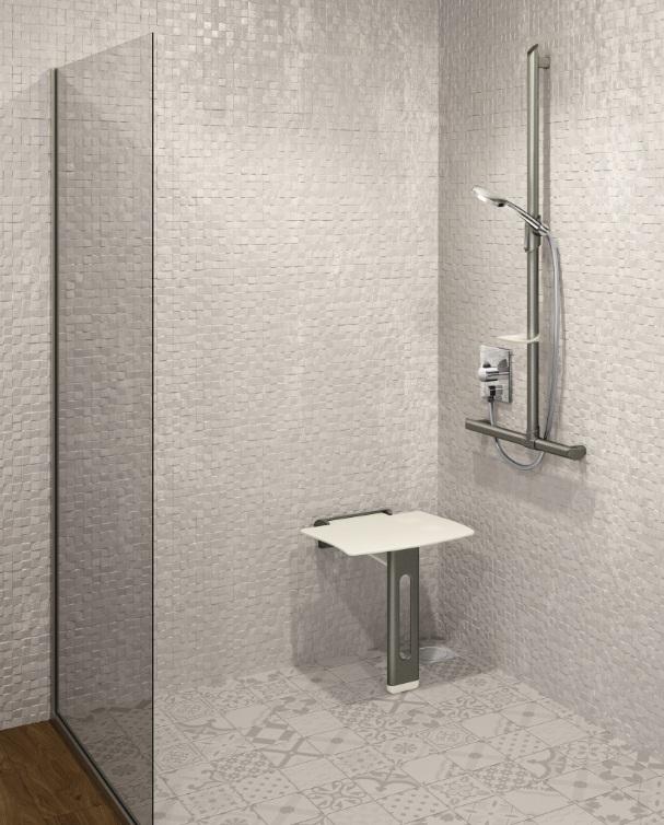 Gamme Be-line - Barres de maintien et sièges de douche