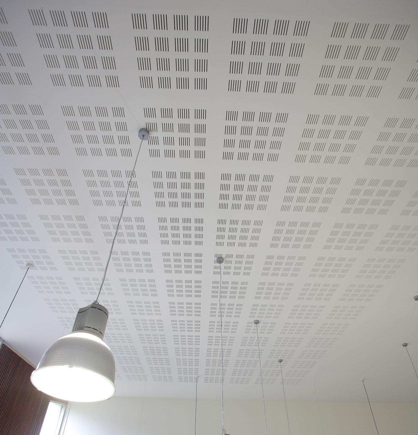 Knauf Delta 4  - Plafond acoustique non démontable