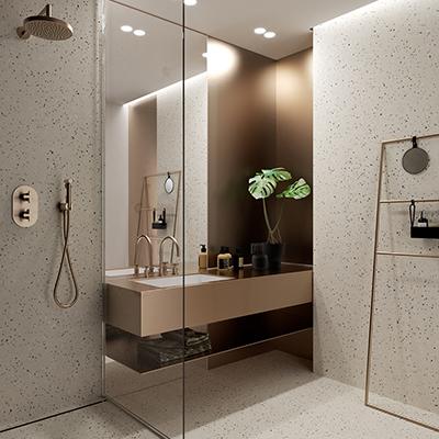 HI-MACS - Matériau Solid Surface pour salle de bain