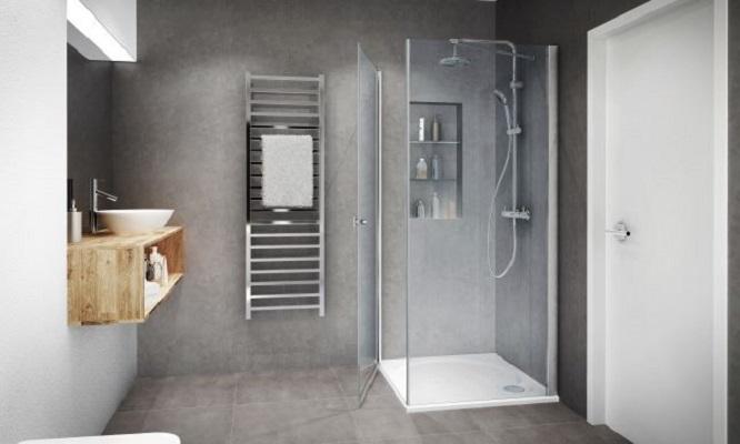 IXIA - Paroi de douche