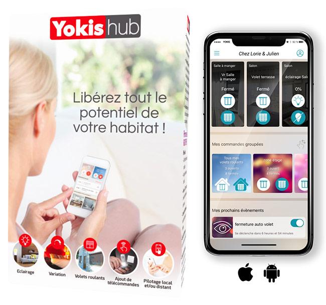 Yokis HUB - Habitat connecté yokis