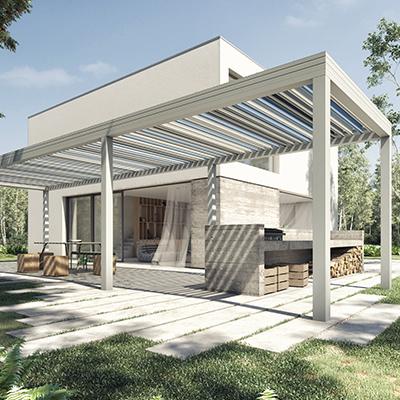 WALLIS&OUTDOOR Design by Dank Architectes  - Pergolas