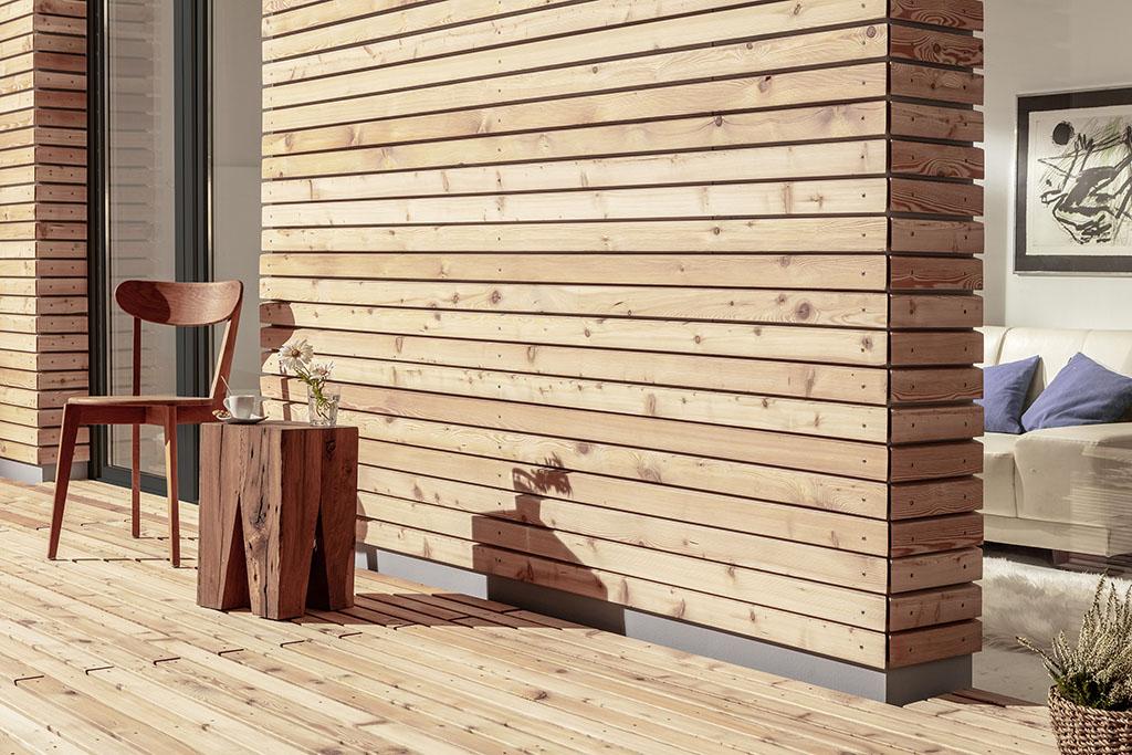 Laritec - Du 100% bois pour façade & terrasse