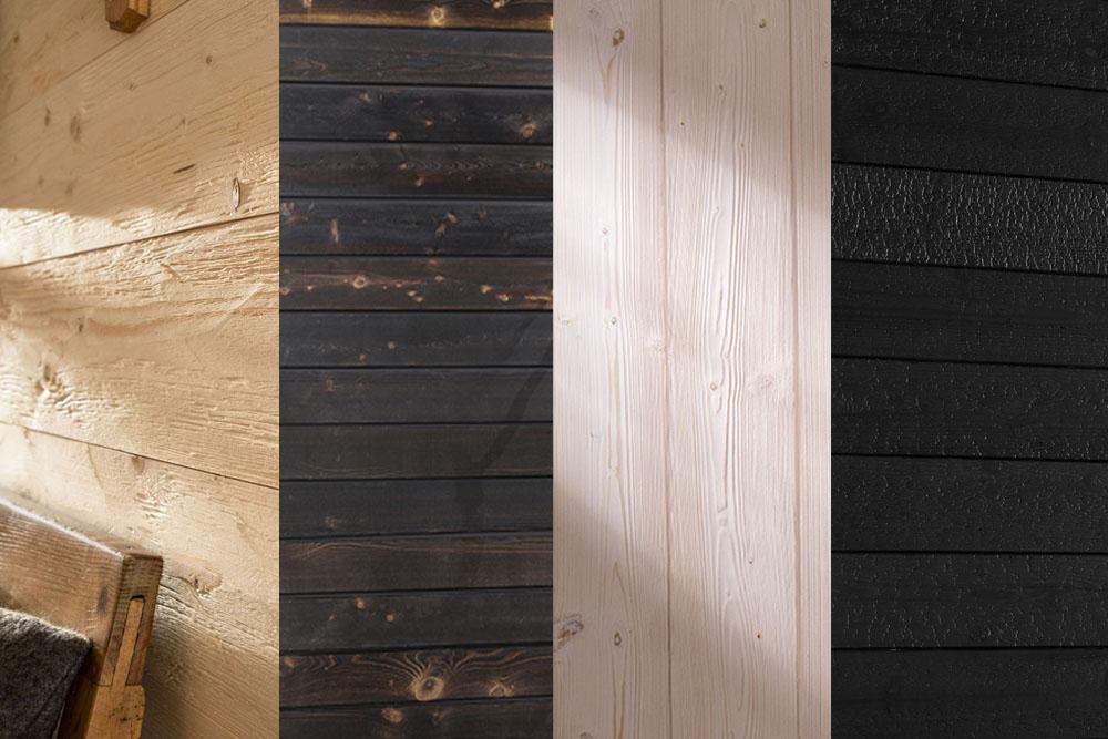 Lambris Mocopinus - Lambris en bois massif pour l'intérieur.